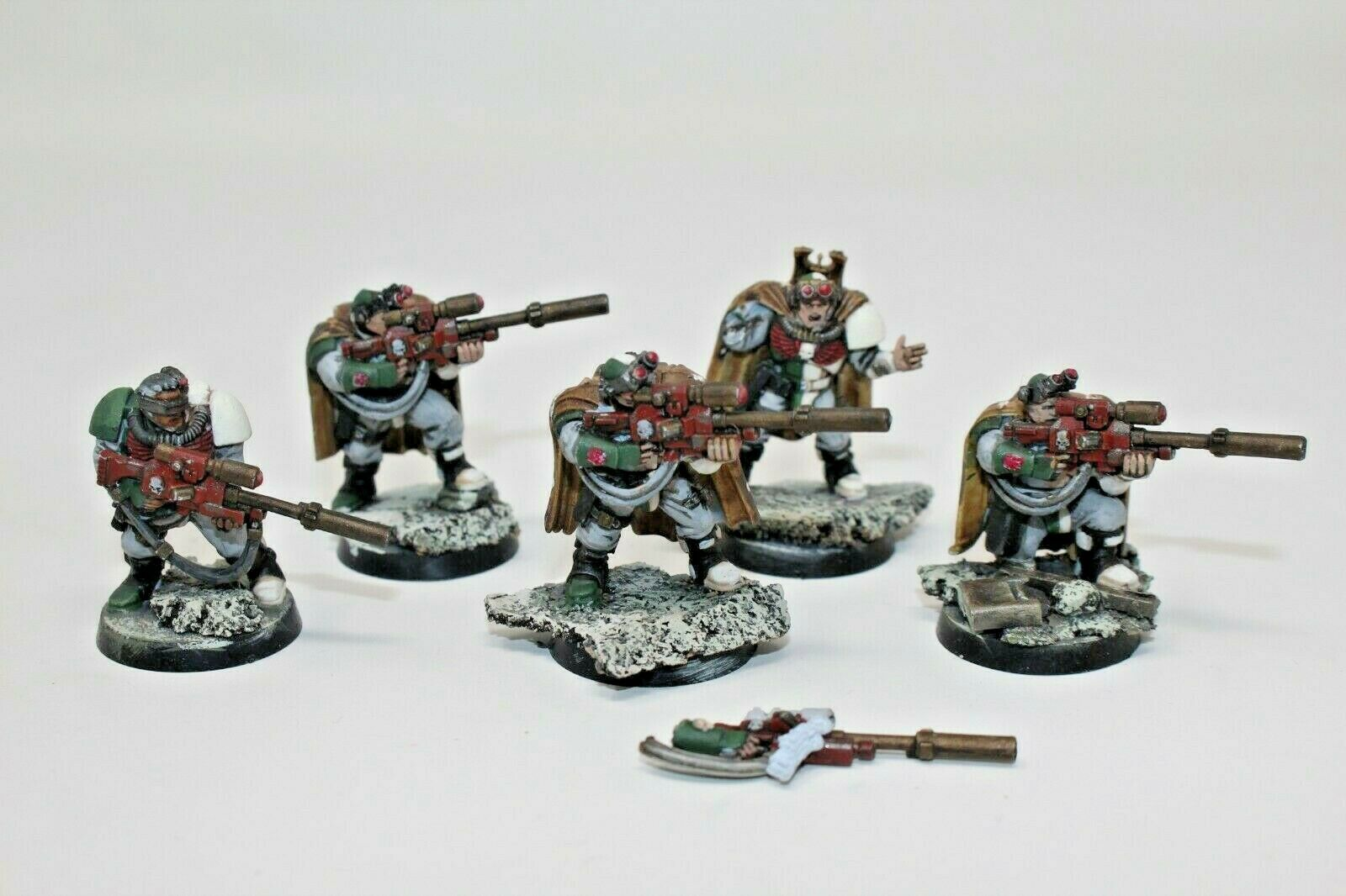 Warhammer Space Marines Scouts With Sniper Rifles Well Painted - JYS93