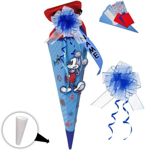 "Mickey Mouse /"" /"" Disney inkl individueller SCHLEIFE BASTELSET Schultüte"