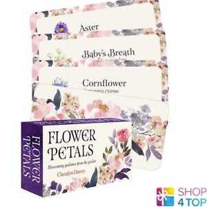 FLOWERS-PETALS-INSPIRATIONAL-DECK-KARTEN-ESOTERIC-US-GAMES-SYSTEMS-NEU