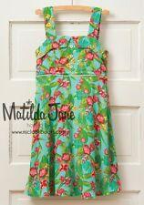 NEW Girls tween 435 Matilda Jane Hello Lovely green Lovely Luau Dress Size 14