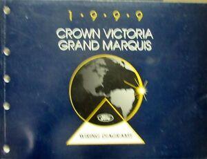 1999 Ford Mercury Electrical Wiring Diagram Manual Crown ...