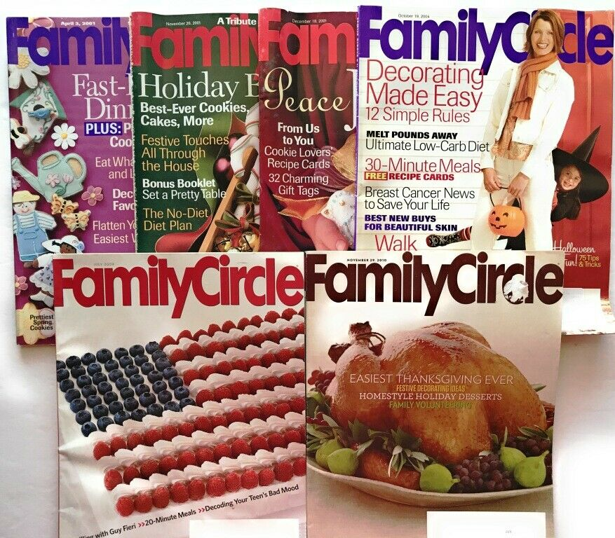 6 Family Circle Magazine Multi Years Recipes Ideas House Healthy Dinners Family 3