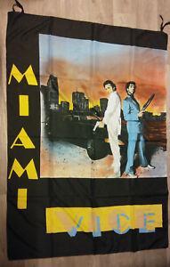 Miami-Vice-Don-Johnson-Crockett-Tubbs-actor-movie-film-artist-poster-FLAG-RARE