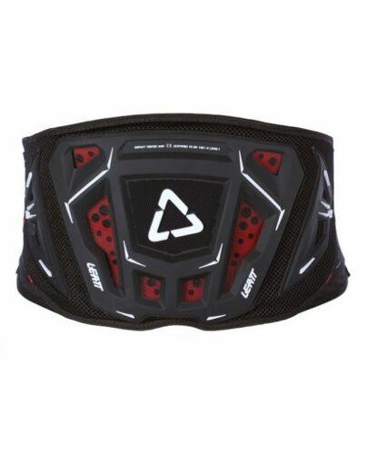 Black Motocross Dirt Bike Leatt Kidney Belt 3DF 3.5