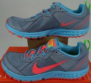 "New RARE Womens 11 NIKE ""Wild Trail"" Miami Dolphins Run Shoes $90 643074-013"