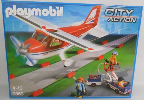 **NEU** PLAYMOBIL® 9369 Flieger rot/weiß Flugzeug **OVP** Playmobil