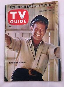 Pitt-June-4-TV-GUIDE-1960-Riverboat-DARREN-McGAVIN-The-Lawman-Ray-Milland