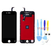 """Black Front LCD Display Touch Screen Digitizer Assembly for iPhone 6 4.7"""" +Tools"""