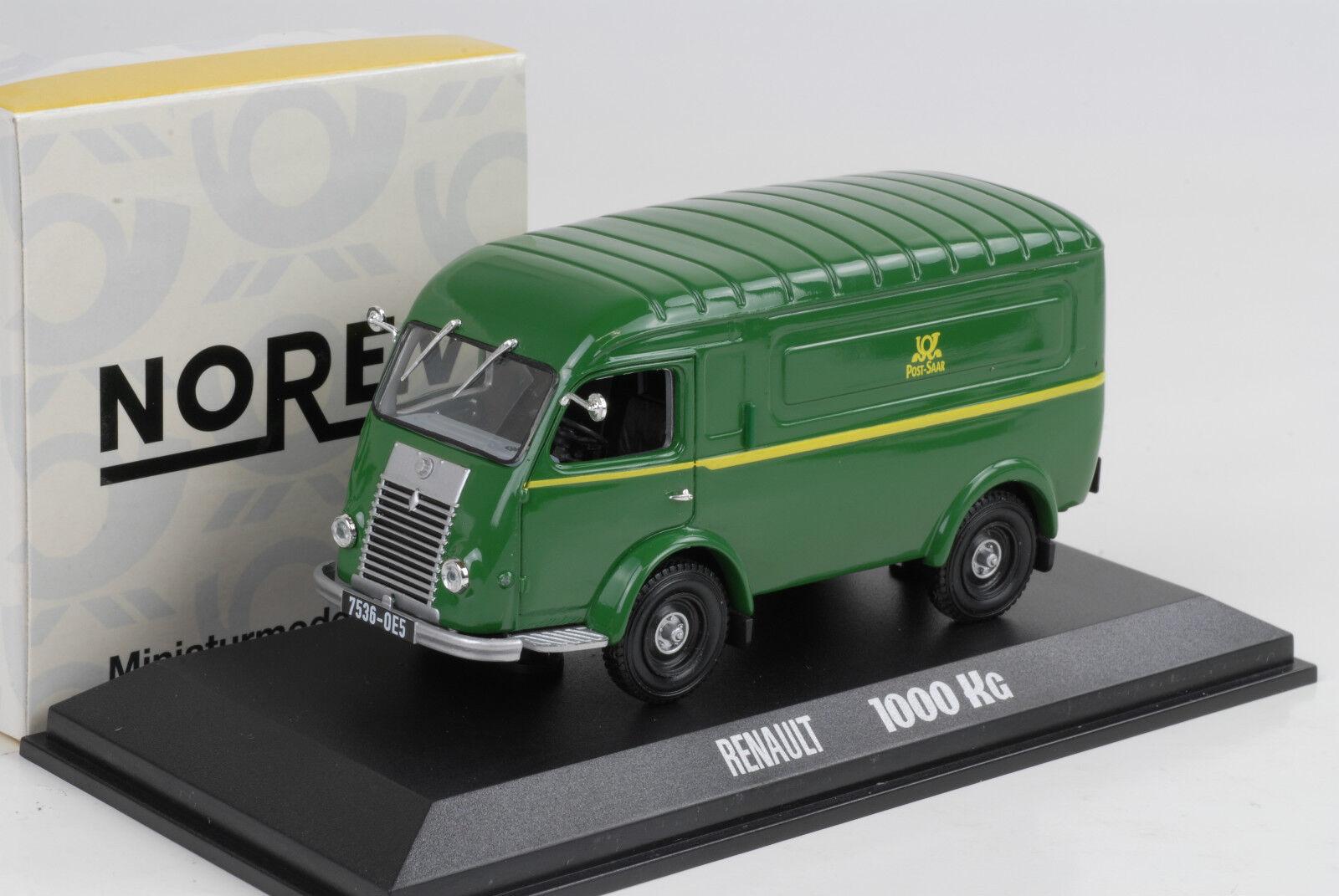 Renault 2204.6lbs Post Saar Deutsche Post Green Green 1 43 Norev