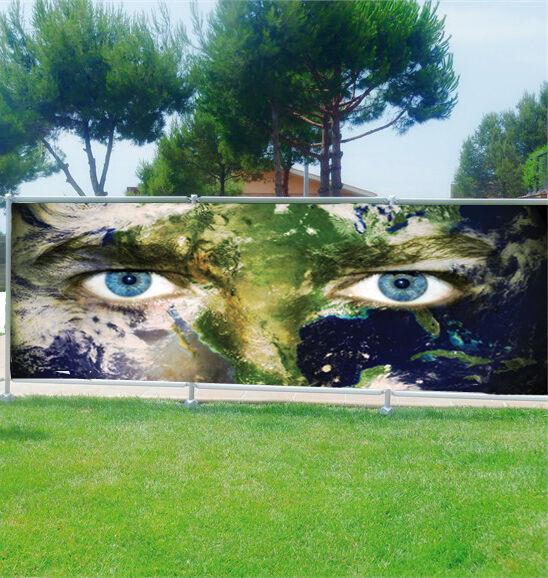 Brisa vista decoración personalizado Ojos Ojos personalizado planeta ref 3667 9ea777