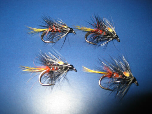 4 V Fly Size 12 Ultimate RV Classic Watson's Bumble Wet Trout Flies