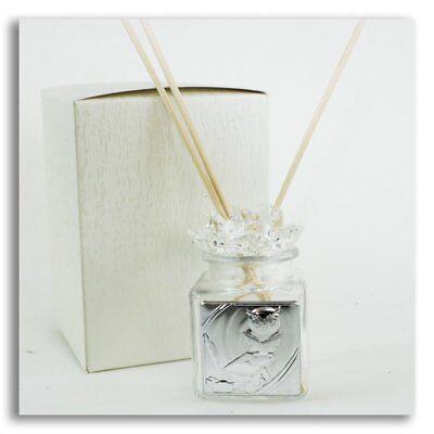 27670 Bomboniere Diffusore Profumatore Fiore in cristallo per Laurea Barattolo B