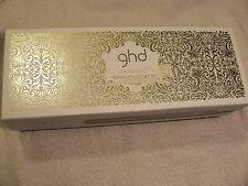 "GHD ARCTIC GOLD 1"" STYLER FLAT IRON HAIR STRAIHTENER BOX & IRON ONLY"