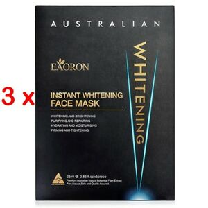 PROMOTION-PRICE-NEW-3-x-Eaoron-Instant-Whitening-Face-Mask-25ml-15-Pieces