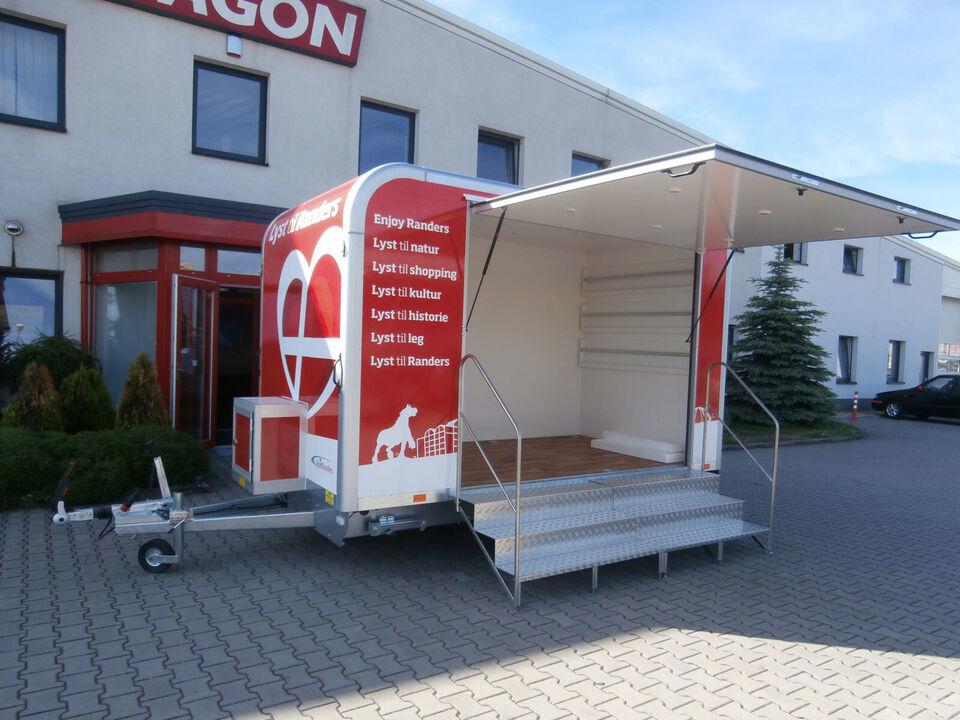 Salgsvogne - Messevogne - Product promotionvogne