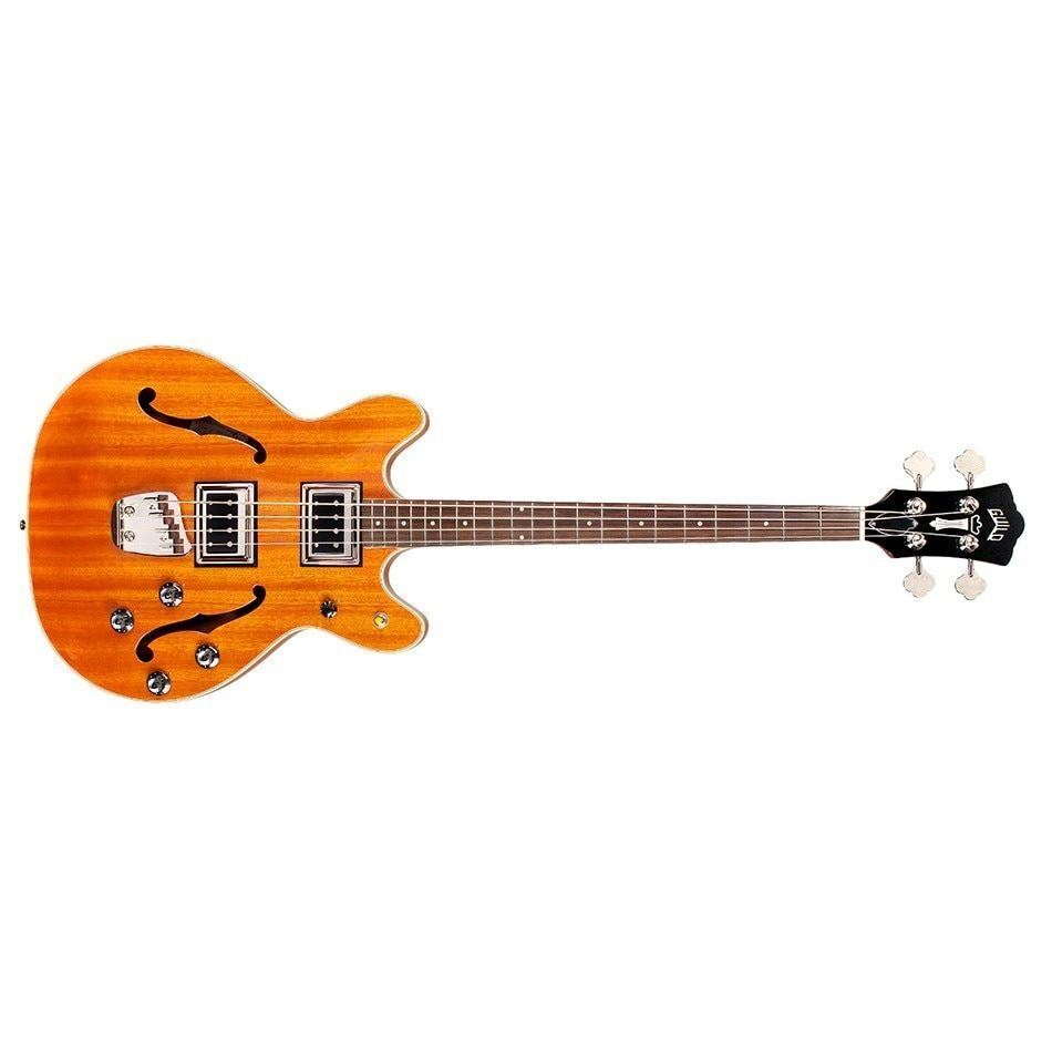Guild Starfire II Electric Bass Natural 3792410850 MSRP 1,800