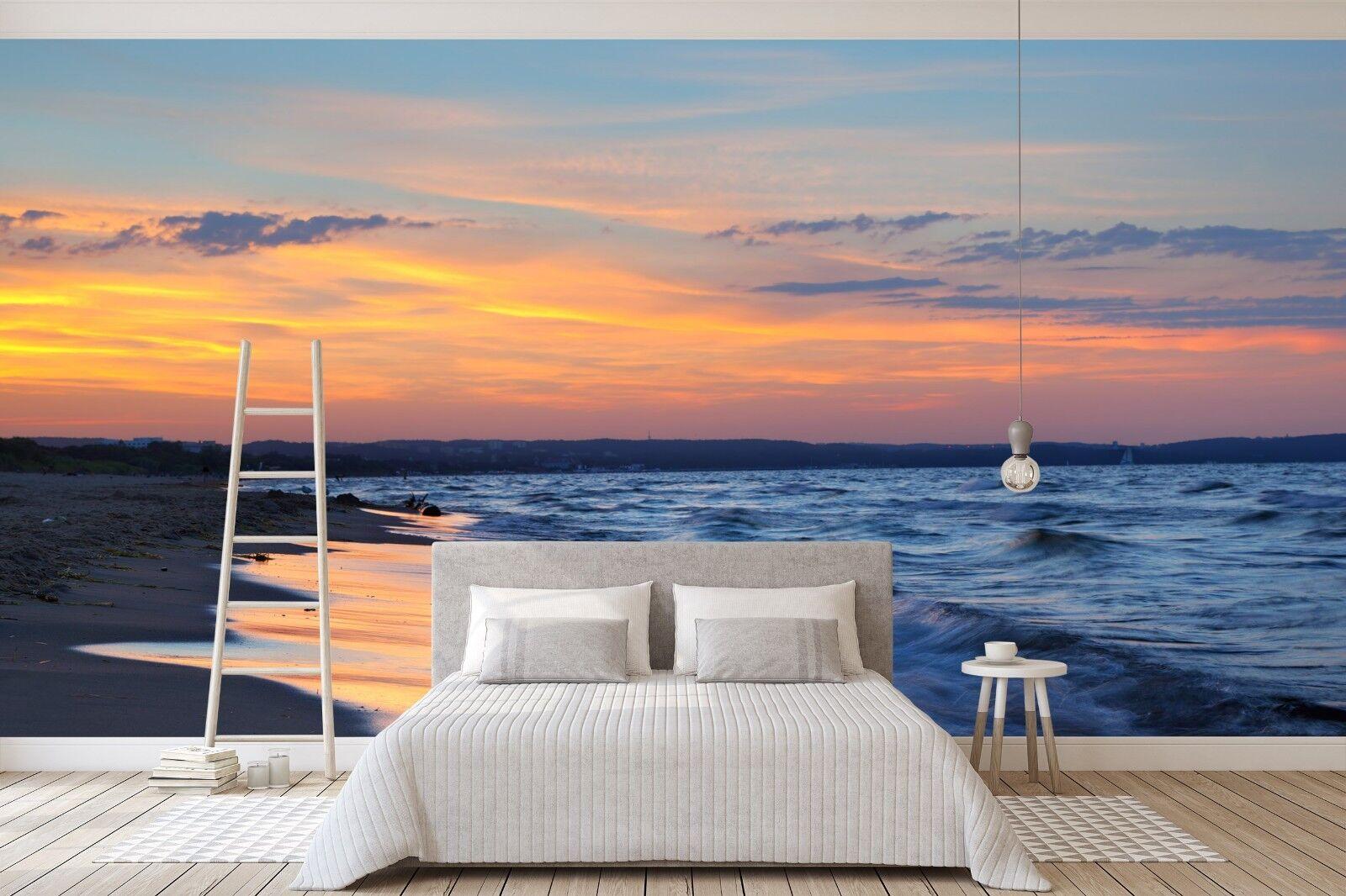3D Meer Strand 984 Tapete Wandgemälde Tapete Tapeten Bild Familie DE Sidney | Moderne Technologie  | Ästhetisches Aussehen  |
