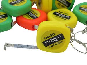 12x Maßband Schlüsselanhänger Kindergeburtstag Mitgebsel 1 Meter Zollstock Neu