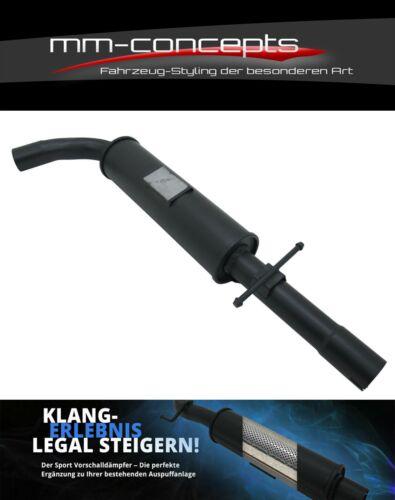 Vorschalldämpfer für Seat Leon 1M 1.8T 20V 132kw MSD VSD Mittelschalldämpfer NEU