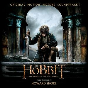 Howard-Shore-The-Hobbit-the-Battle-of-the-Five-Armies-2-CD-NUOVO-Shore-Howard