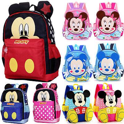Kids Backpack Mickey Mouse School Bag Toddler Backpack Boys Children Shoulder