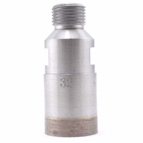 """5-55mm SINTERED Diamond Drills Bit Hole Cutter 1//2/"""" Thread Belgium Mount Glass"""