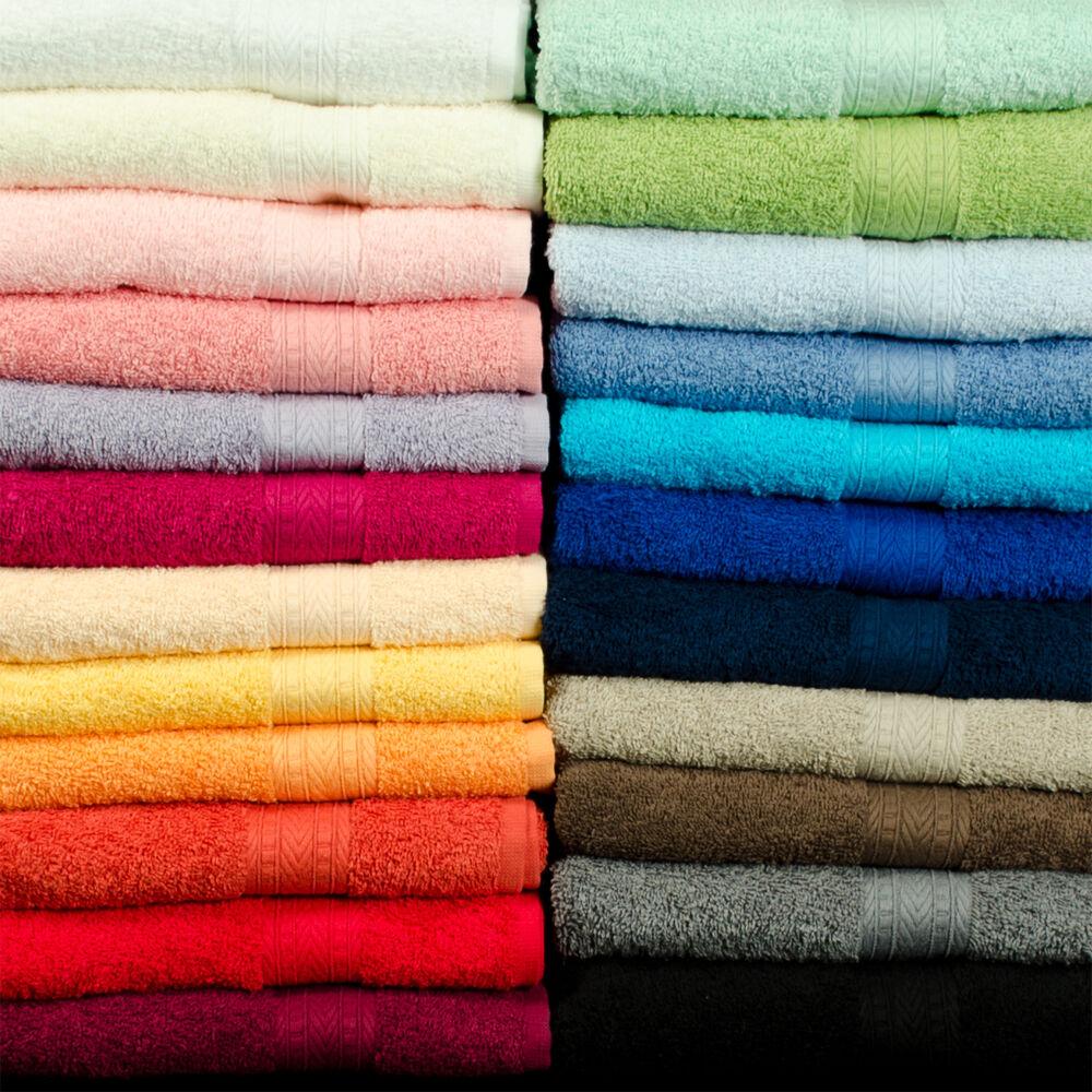 9 teiliges Set Duschtücher Handtücher Badezimmer Set NEU freie Farbwahl TOP   | Angenehmes Gefühl