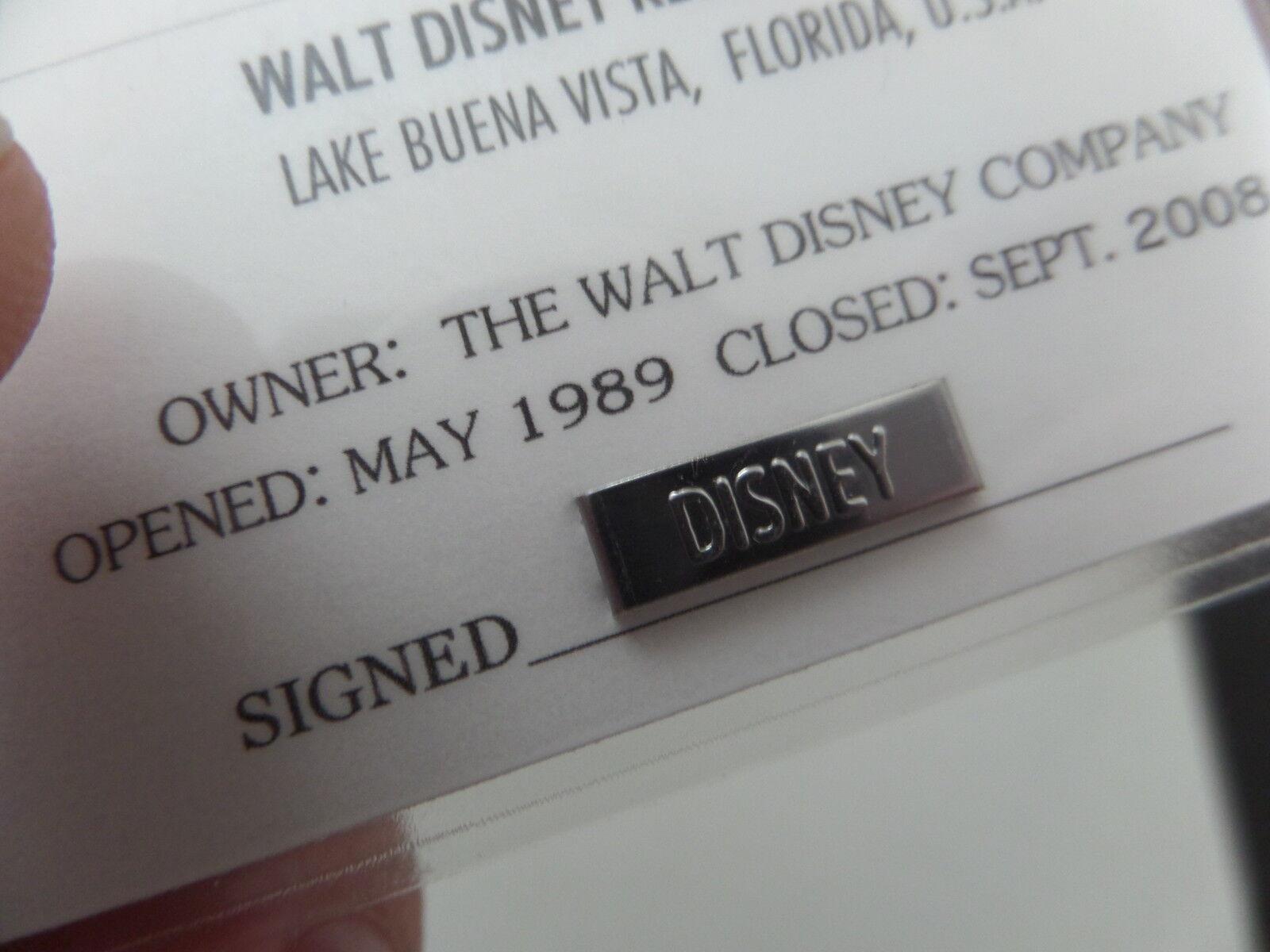 "WALT DISNEY /""ADVENTURERS CLUB SCROLL/"" THE HISTORY CLUB CARDS /& KUNGALOOSH BONUS"