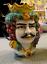 miniatura 4 - Teste di Moro Siciliane in ceramica di Caltagirone testa uomo o donna H13 vaso