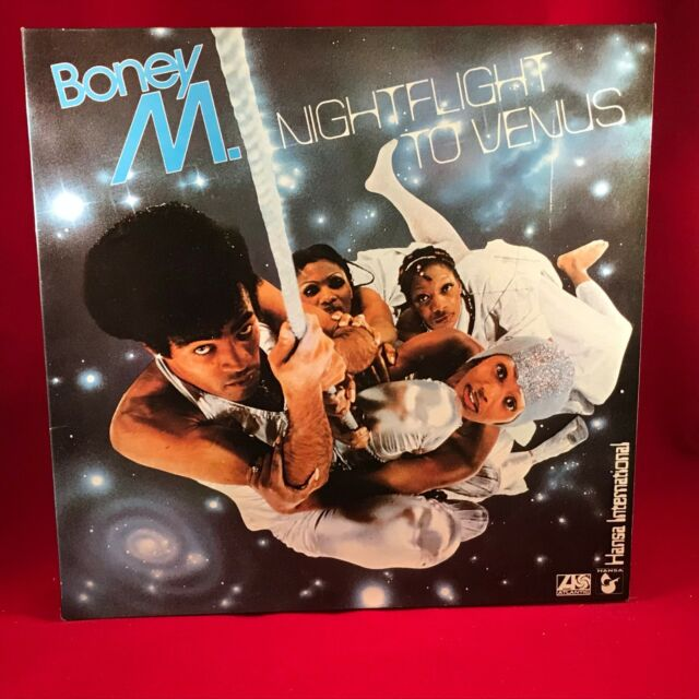 Boney M Nightflight a Venus 1978 Uk Vinilo Lp Excelente Estado L