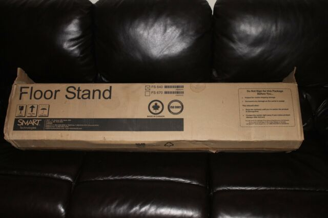 Smart Board Fs640 Mobile Floor Stand For Sb640 Rare New 12 17 For