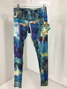 9182e3b92e41b1 Image is loading ANJALI-WOMEN-039-S-FEROCITY-LEGGINGS-NEO-MULTICOLOR-