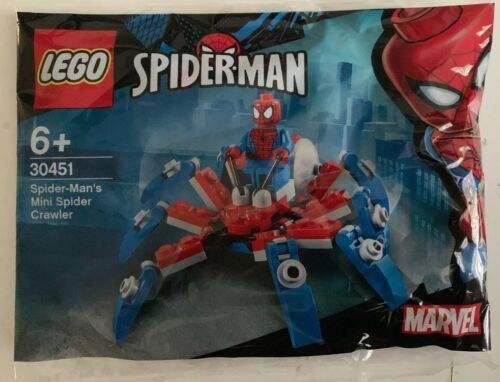 Polybag LEGO MARVEL 30451 Spiderman Mini Crawler BNIP Sealed