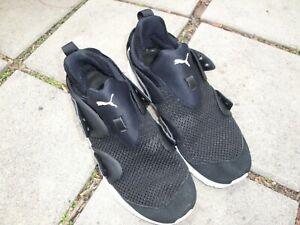 Men's Puma Ignite Athletic Sneakers Black Size 13 no laces