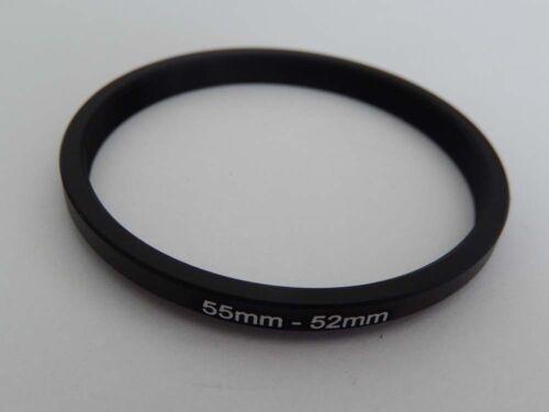 Anillo de adaptador filtro adaptador step-down 55mm-52mm 55-52 adapter anillo