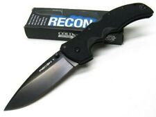 Cold Steel Recon 1 27BS Folder Spear Point Plain Edge 4in Blade