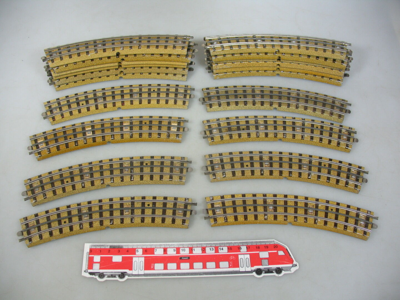 Am712-2 20x Märklin Marklin H0  00  Ac Pezzo Pista (M PISTA) (F) . 3600 800