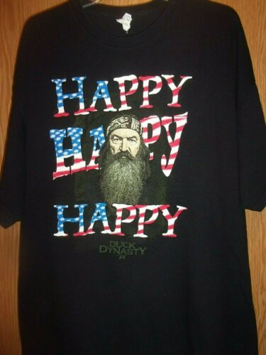 Happy Happy Happy TV show black 2XL t shirt