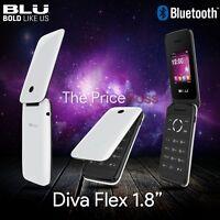 BLU Unlocked T350-WHITE Cellular Phones