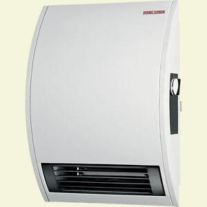 wall mounted electric fan heater bathroom basement room camper rv