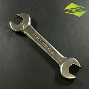 VINTAGE-BARCALO-BUFFALO-USA-11-16-034-X-19-32-034-OPEN-ENDED-WRENCH-SPANNER-OLD-TOOLS