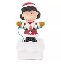 New 2015 Hallmark Peanuts Gang Christmas Light Show - Lucy - Charlie Brown