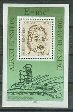 DDR Briefmarken 1979 Albert Einstein Mi.Nr.2402 Postfrisch