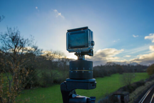 B500 Adaptador para trípode giratorio de lapso de tiempo para Nikon Coolpix A300 A900 B700