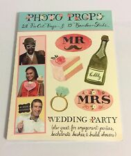 GALISON, WEDDING PARTY GUEST PHOTO PROPS KIT, SCRAPBOOKING, MEMORY BOOKS, NIP