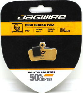 Jagwire Mountain Sport Semi-Metallic Disc Brake Pads SRAM Guide//Trail