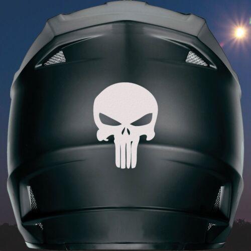 Ninja R1 CBR FREE Bonus Punisher Reflective Helmet Decal Busa R6 ZX9
