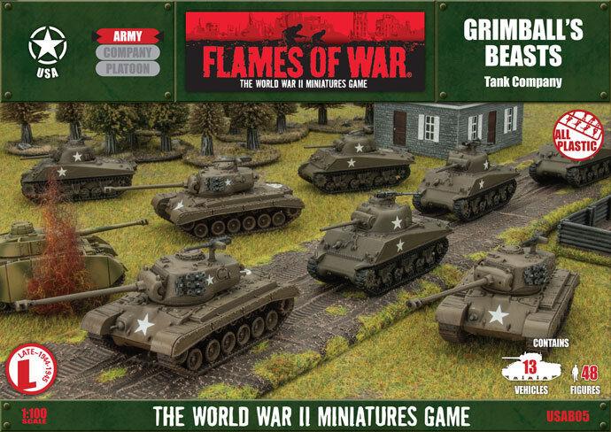Flames of War - US  Grimball's Beasts  USAB05