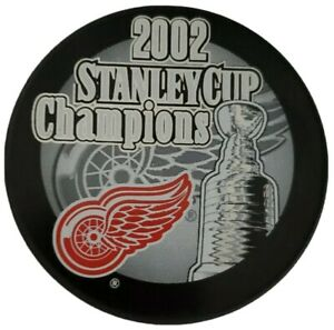 2002-STANLEY-CUP-CHAMPIONS-SHADOW-LOGO-DETROIT-RED-WINGS-NHL-OFFICIAL-PUCK