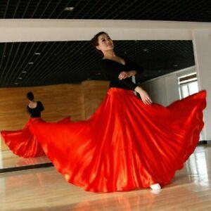 Women Latin Salsa Flamenco Wrap Skirt Ballroom Dance Modern Tango Waltz Swing